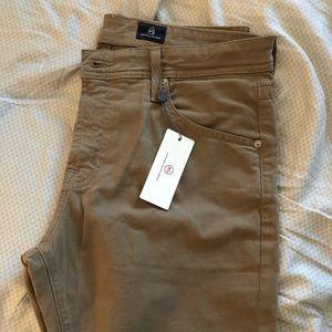 Men's AG The Graduate Khaki Jeans Pants